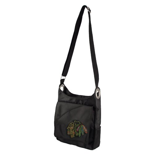 Little Earth NHL Sport Noir Color Sheen Cross Body Bag