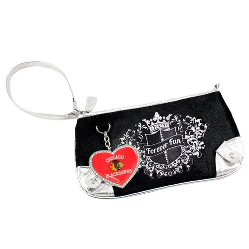 Little Earth NHL Sport Luxe Fan Wristlet Bag