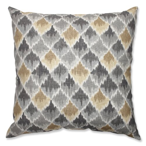 Baroque Bargello Shale Floor Pillow