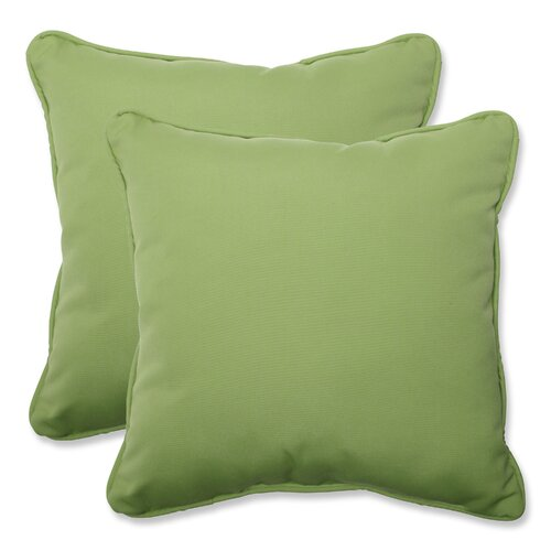 Canvas Throw Cushion (Set of 2)