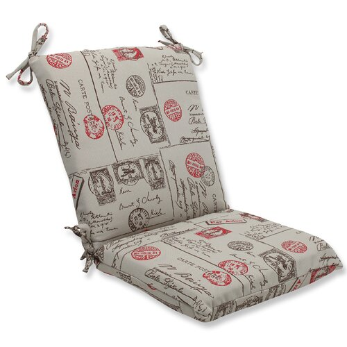 Carte Postale Corners Chair Cushion