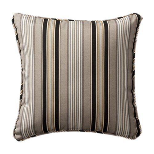 Pillow Perfect Decorative Square Toss Pillow (Set of 2)