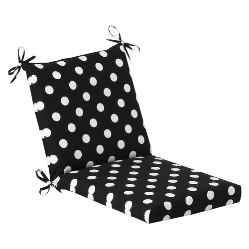 Pillow Perfect Outdoor Squared Chair Cushion