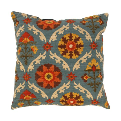 Mayan Medallion Throw Pillow