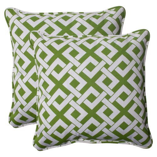 Pillow Perfect Boxin Corded Throw Pillow