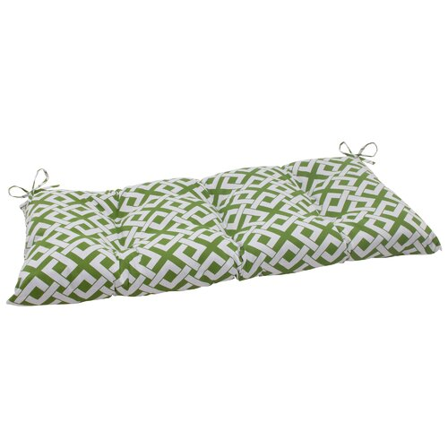 Pillow Perfect Boxin Tufted Loveseat Cushion