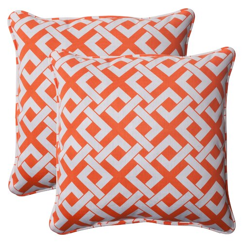 Pillow Perfect Boxin Corded Throw Pillow