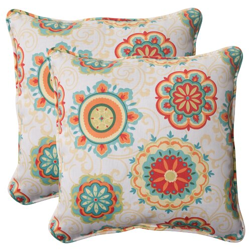 Pillow Perfect Fairington Corded Throw Pillow