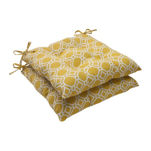 Pillow Perfect Rossmere Tufted Seat Cushion