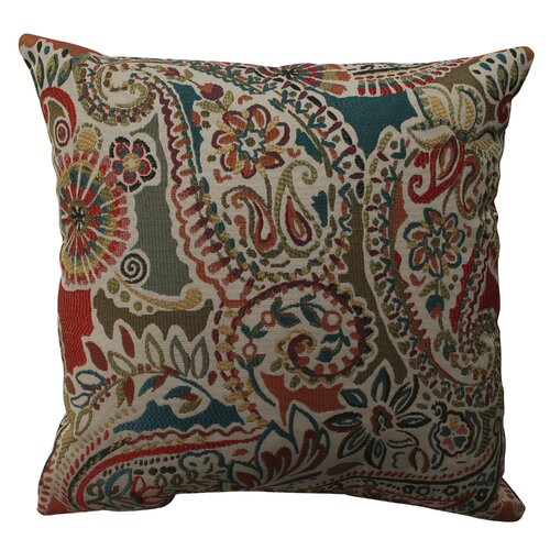 Piper Paisley Polyester Pillow