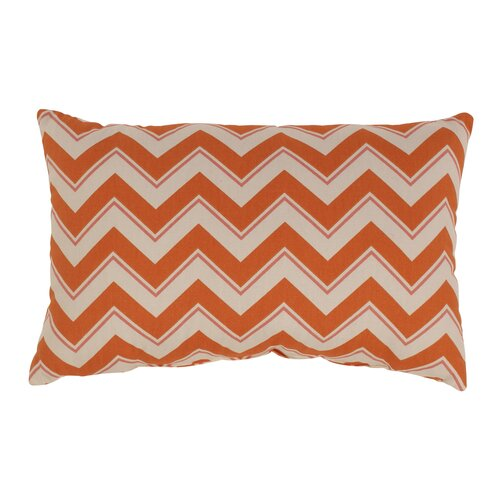 Pillow Perfect Chevron Cotton Throw Pillow