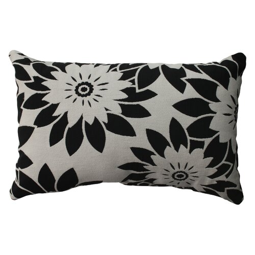 Pop Art Floral Poly / Cotton Throw Pillow
