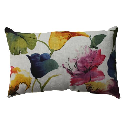 Brookwater Floral Cotton Throw Pillow