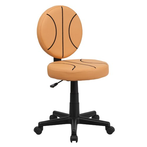 Flash Furniture Basketball Mid Back Kid's Desk Chair