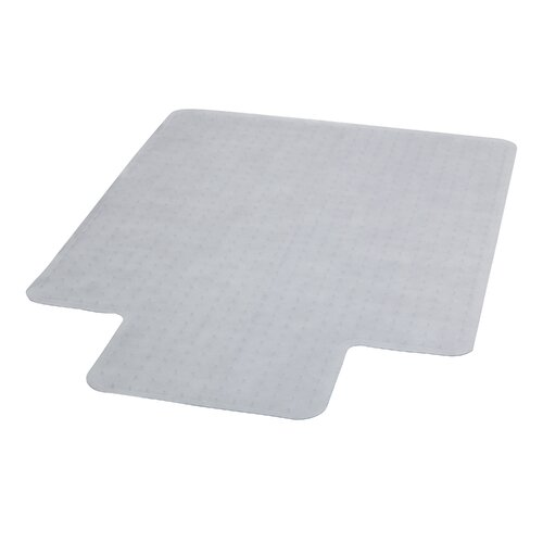 Flash Furniture Low Pile Carpet Straight Edge Chair Mat