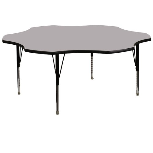 "Flash Furniture 60"" Flower Classroom Table"