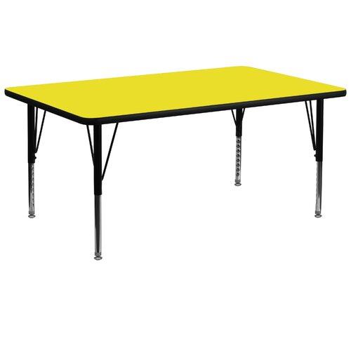 "Flash Furniture 72"" x 30"" Rectangular Classroom Table"