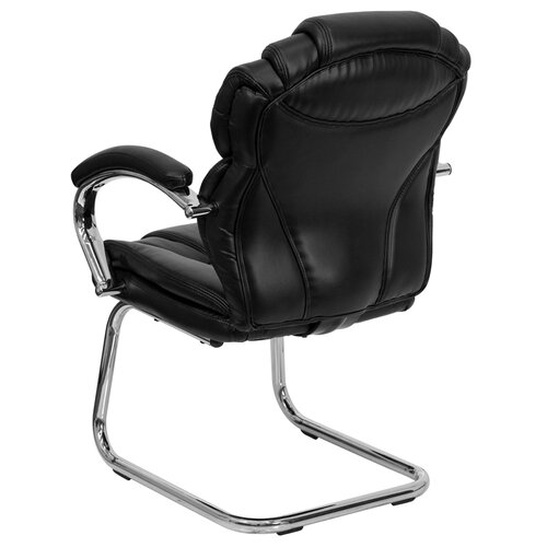 Flash Furniture Guest Side Chair with High Back