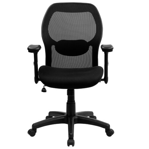 Flash Furniture Super Mid-Back Office Chair