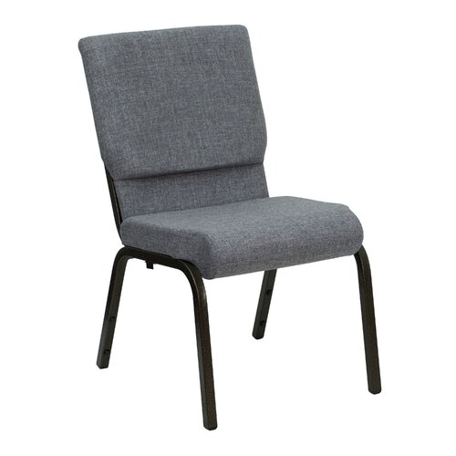 "Flash Furniture Hercules Series 18.5"" Wide Stacking Church Chair with 4.25"" Thick Seat"