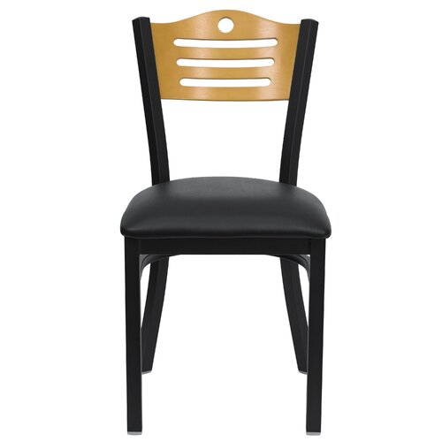 Flash Furniture Hercules Series Slat Back Side Chair