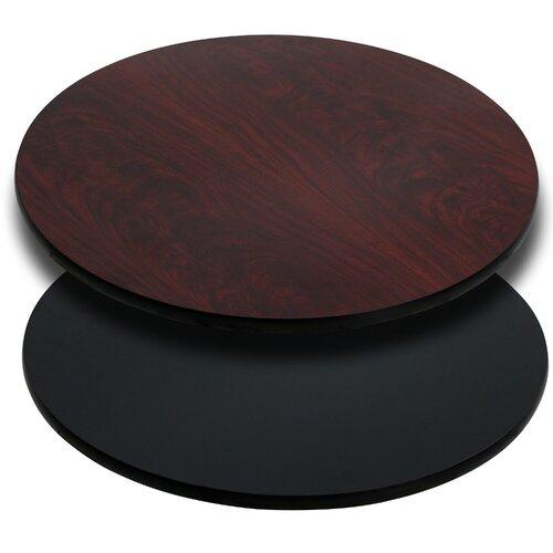 Flash Furniture Round Reversible Laminate Table Top