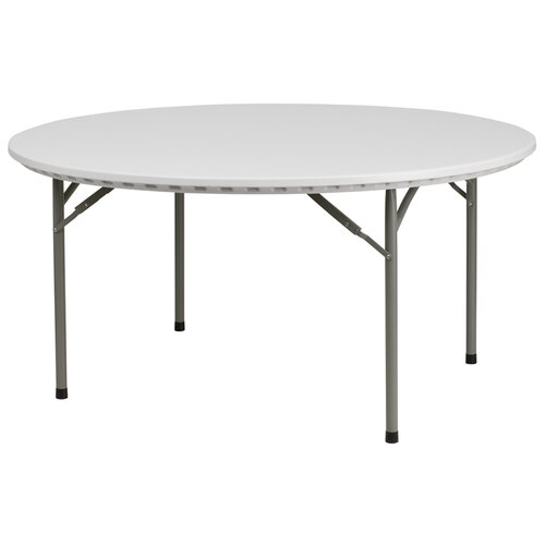 "Flash Furniture 60"" Round Folding Table"