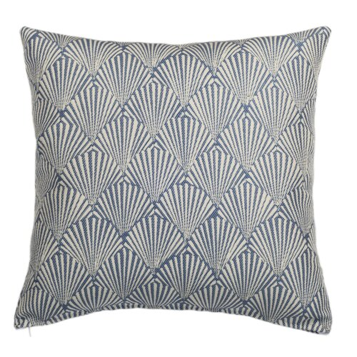 Caribbean Seaside Indoor and Outdoor Square Pillow