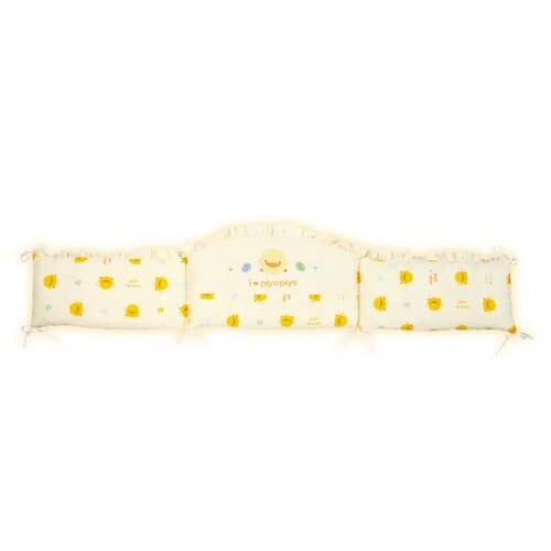 Piyo Piyo 7 Piece Crib Bedding Set