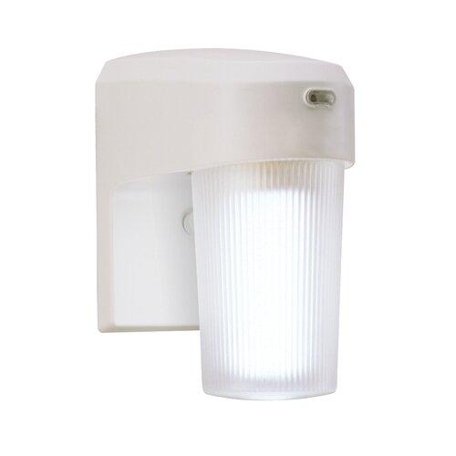 Cooper Lighting 13 Watt CFL Dusk-to-Dawn Light in White