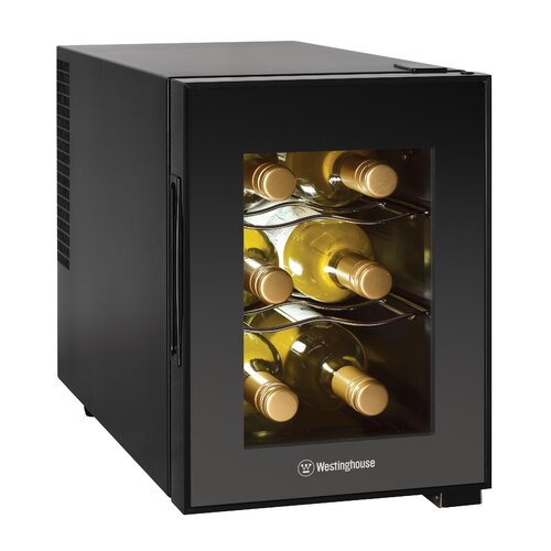 6 Bottle Thermoelectric Wine Refrigerator
