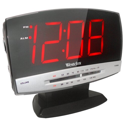 Tech Large Display Radio Clock