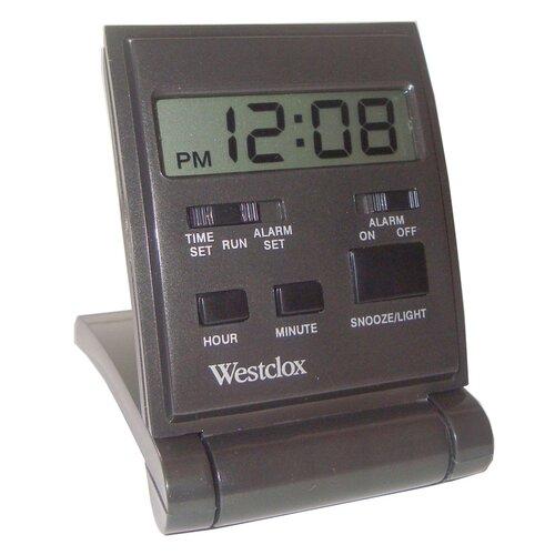 Travel LCD Alarm Clock
