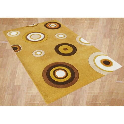 Alliyah Rugs Scandinavia Corn Geometric Rug