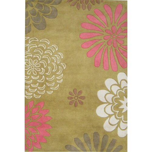 Sabrina Harvest Honey Floral Rug