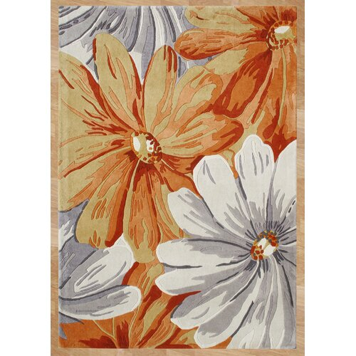 Casablanca World Classic Floral Grey Contemporary Rug