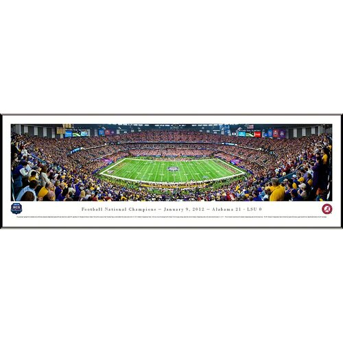 NCAA BCS Football Championship 2012 Standard Framed Photographic Print