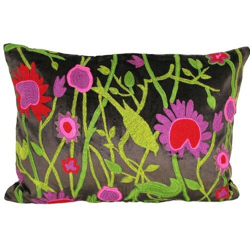 Cherry Blossom Velvet Pillow