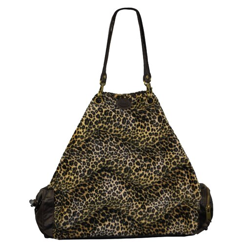 Faux Fur Wildcat Tote Bag