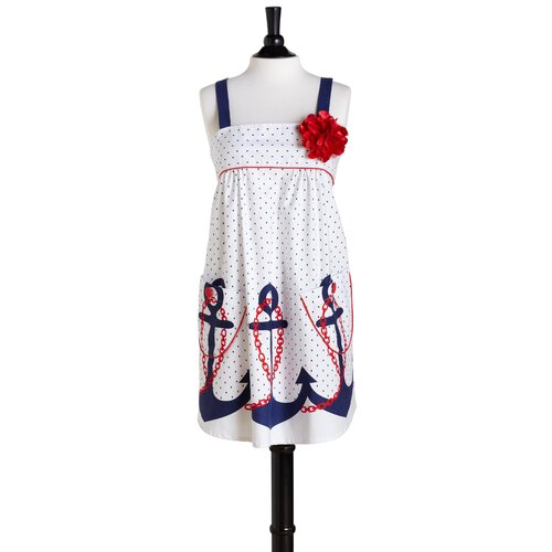 Jessie Steele Anchors Away Bib Mia Apron