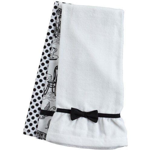 Jessie Steele Cafe Toile Towel Trio