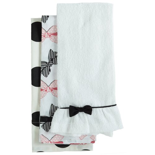 Jessie Steele Bow Peep Towel Trio