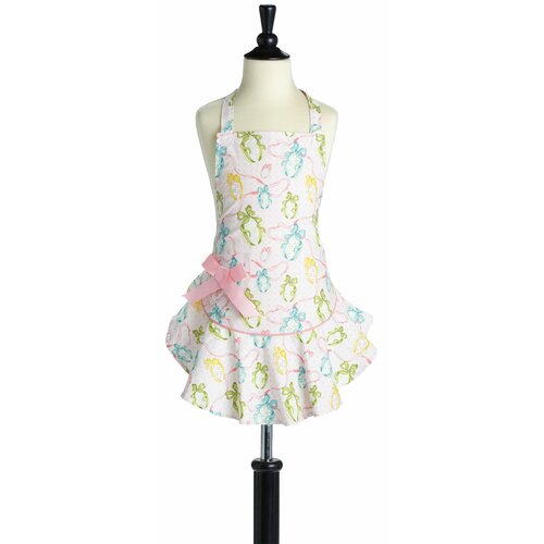 Easter Egg Ribbon Bib Josephine Apron - Child