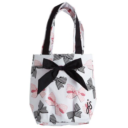 Jessie Steele Bow Peep Lunch Tote Bag with Bow