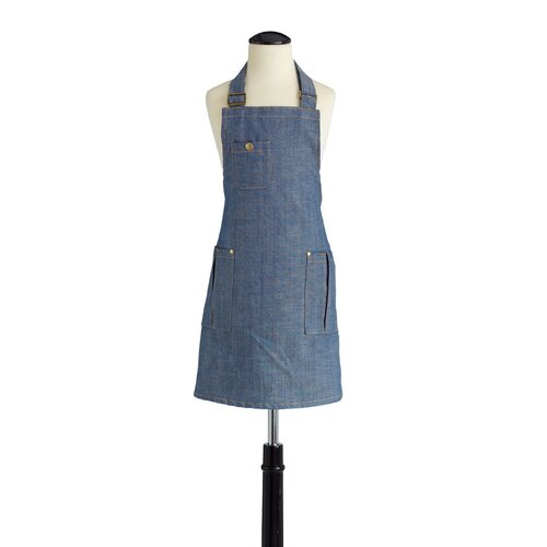 Denim Children's Bib Chef Apron