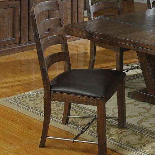 Emerald Home Furnishings Castlegate Ladderback Side Chair