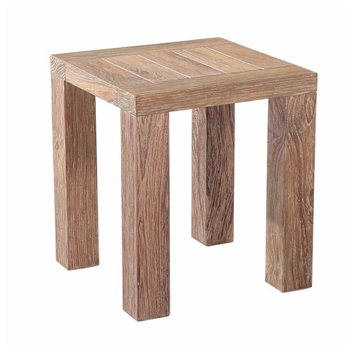 Reims Weathered Side Table