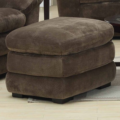 Emerald Home Furnishings Devon Ottoman