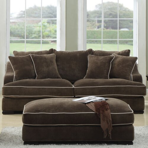 emerald home furnishings caresse sofa reviews wayfair. Black Bedroom Furniture Sets. Home Design Ideas