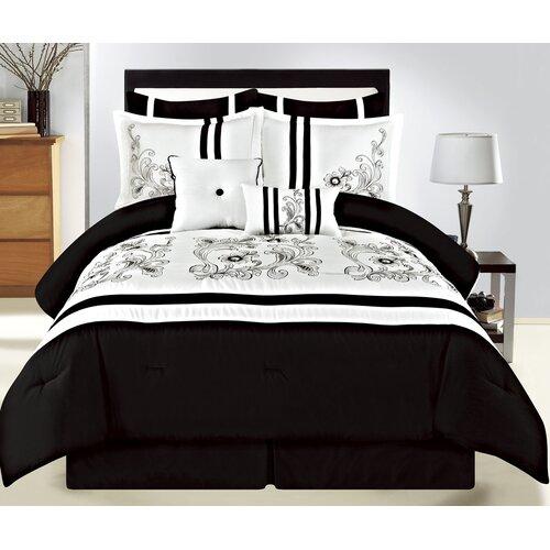 Sinclair 8 Piece Bedding Set